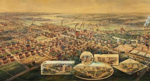 Żyrardów – największy ośrodek przemysłu lniarskiego w XIX-wiecznej Europie - zdjęcie
