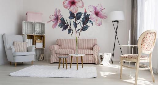 Mieszkanie w rozkwicie, czyli dekoracyjne naklejki w kwiaty - zdjęcie