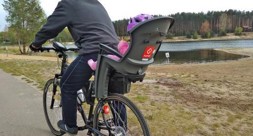 Dziecięcy fotelik rowerowy Hamax Siesta, Rowertour - zdjęcie