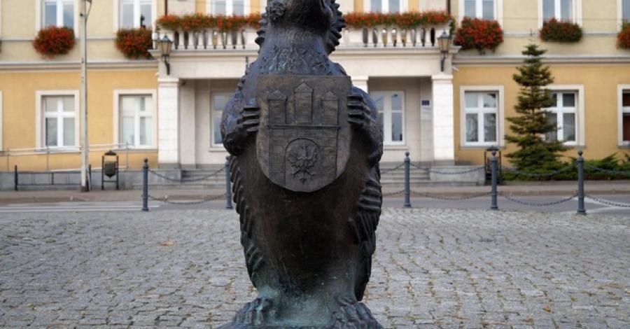 Pomnik jeża w Zgierzu - zdjęcie