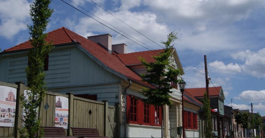 Domki Tkackie w Zgierzu - zdjęcie