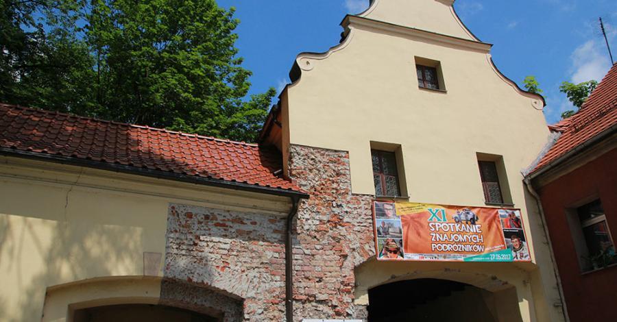 Brama Zamkowa w Głogówku - zdjęcie