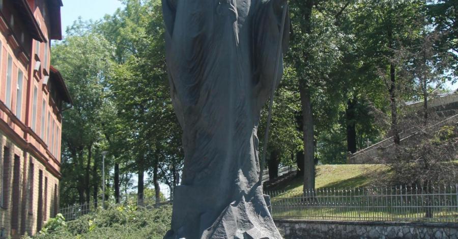 Pomnik Jana Pawła II na Górze Św. Anny - zdjęcie