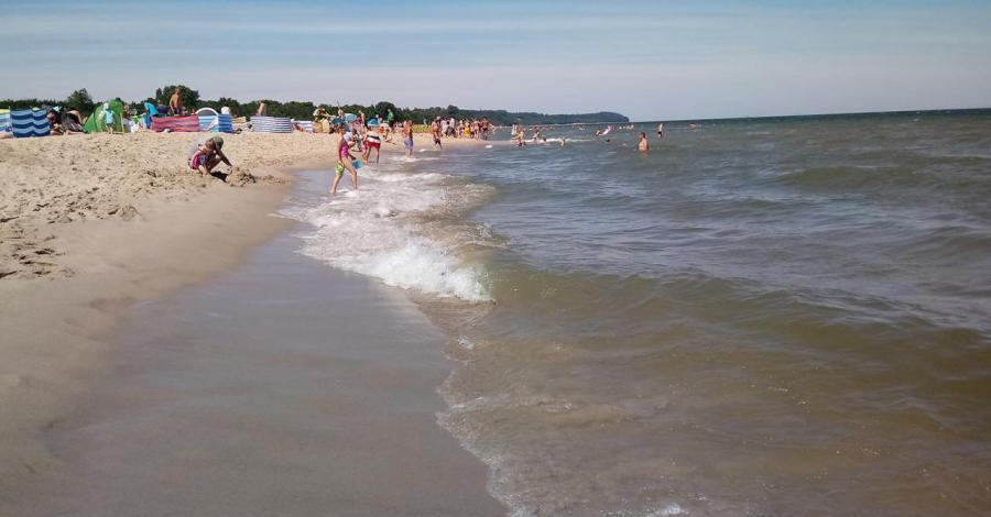 Plaża we Władysławowie - zdjęcie