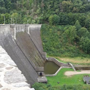 Zapora Lubachowska w Zagórzu Śląskim