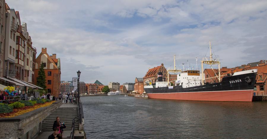 Statek Sołdek w Gdańsku - zdjęcie