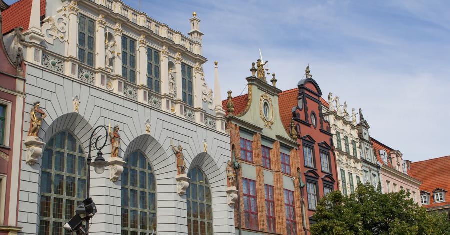 Dwór Artusa w Gdańsku - zdjęcie