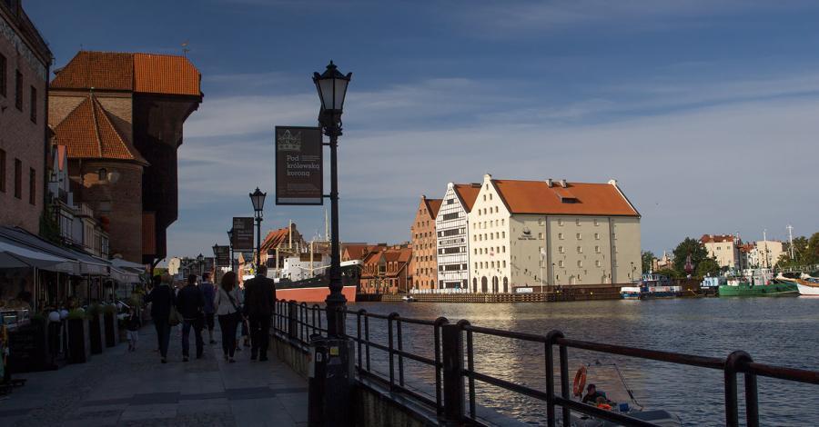Długie Pobrzeże w Gdańsku - zdjęcie