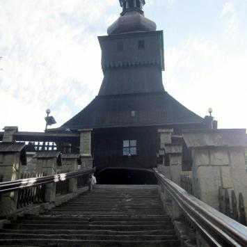 Drewniany kościół w Łodygowicach