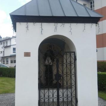 Kapliczka Św. Nepomucena w Muszynie
