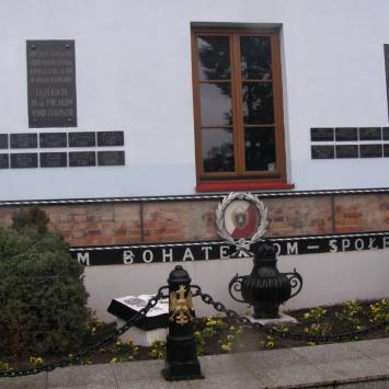 Ściana Straceń w Białej Podlaskiej