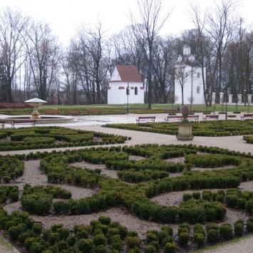 Park Radziwiłłowski w Białej Podlaskiej