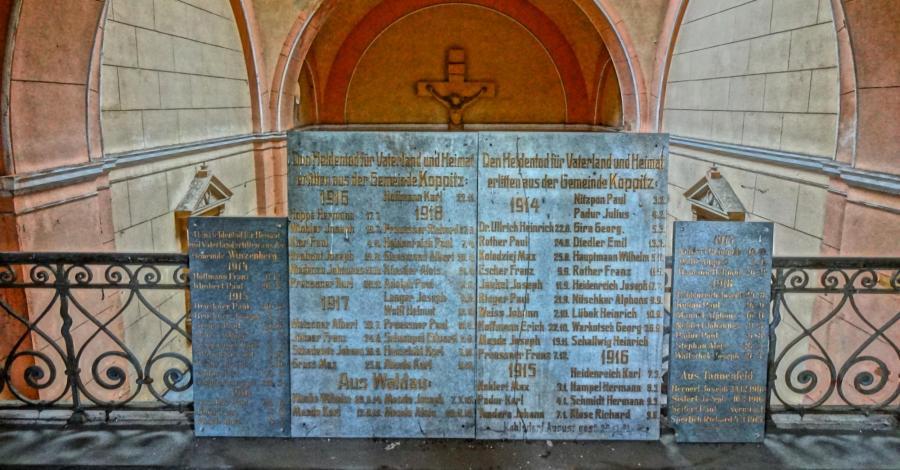 Mauzoleum Schaffgotchów w Kopicach - zdjęcie