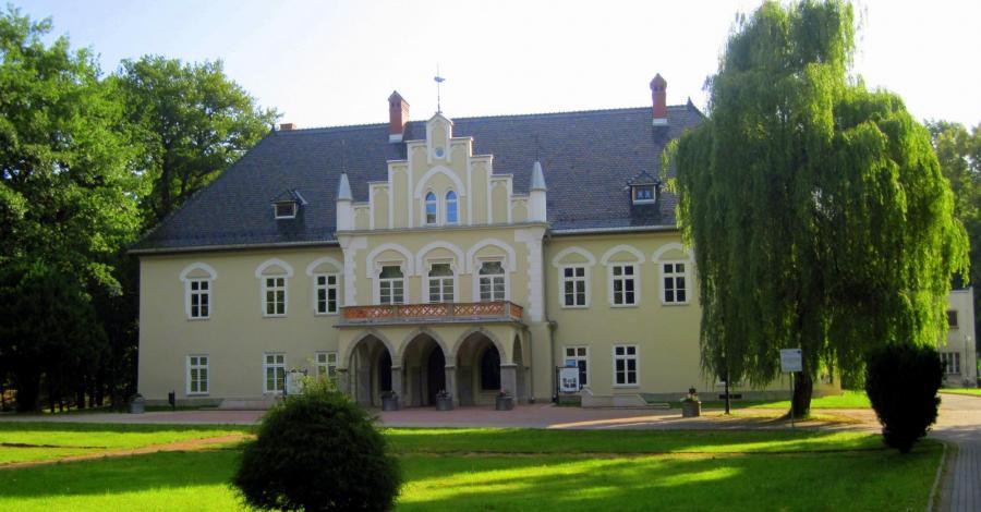 Dwór w Łodygowicach - zdjęcie