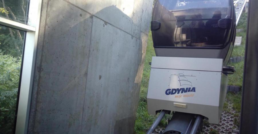 Kolejka linowa na Kamienną Górę w Gdyni - zdjęcie