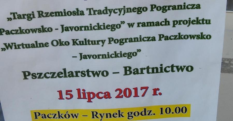 Jarmark Pogranicza czyli Święto Miodu w Paczkowie, mokunka