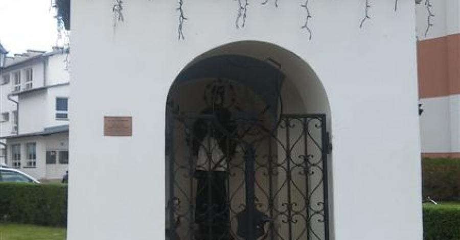 Kapliczka Św. Nepomucena w Muszynie - zdjęcie
