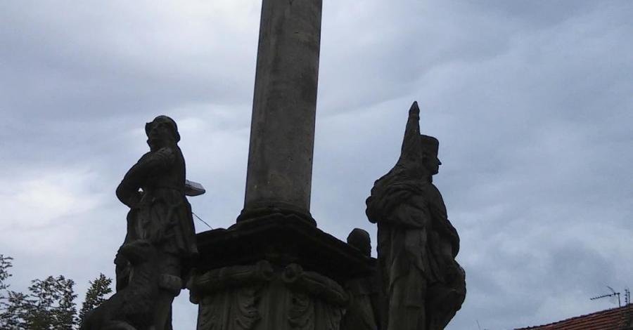 Kolumna Maryjna w Międzylesiu, mokunka