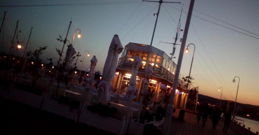 Restauracja Meridan na molo w Sopocie - zdjęcie