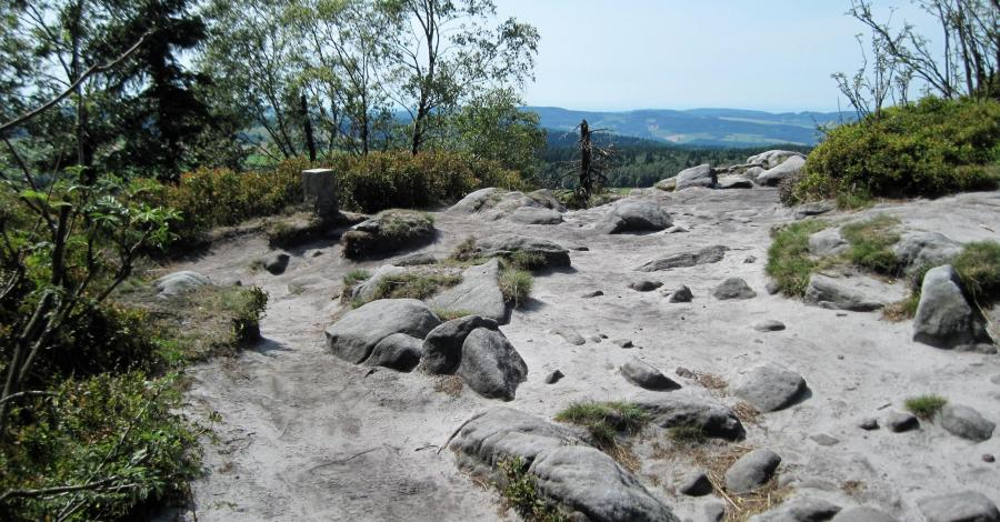 Narożnik w Górach Stołowych - zdjęcie