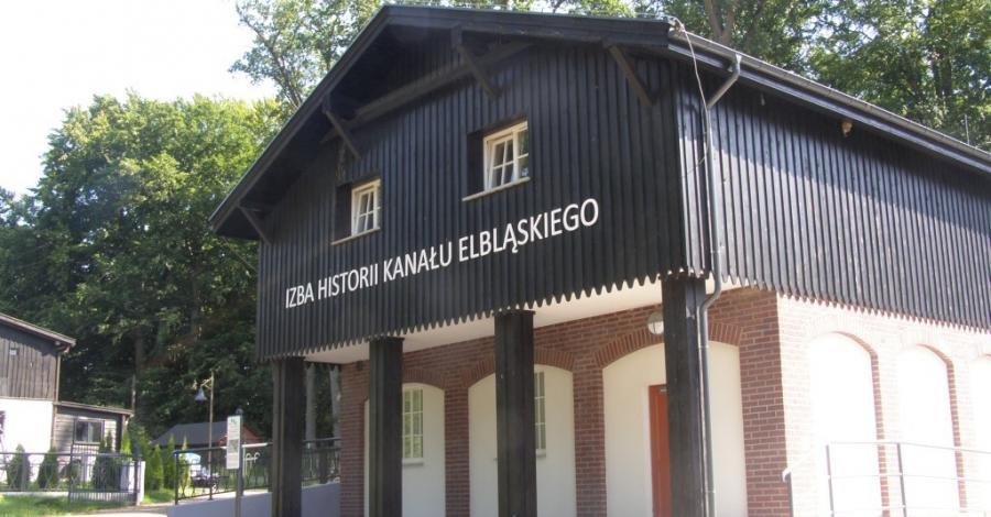 Izba Historii Kanału Elbląskiego w Buczyńcu - zdjęcie