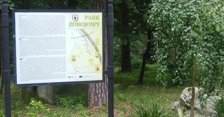 Park Zdrojowy w Głuchołazach, mokunka