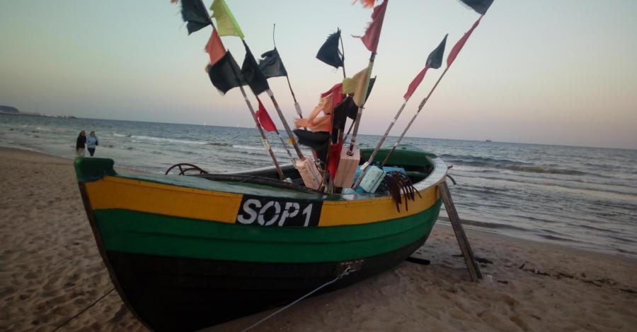 Przystań rybacka w Sopocie - zdjęcie
