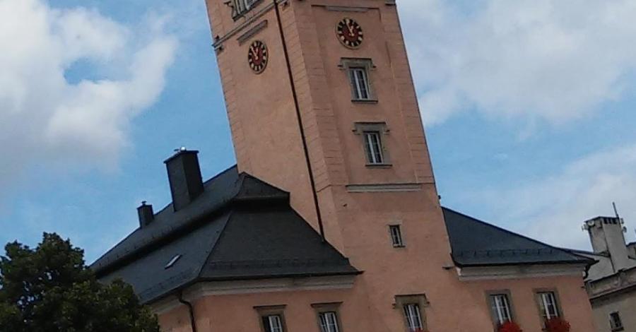 Rynek w Radkowie - zdjęcie