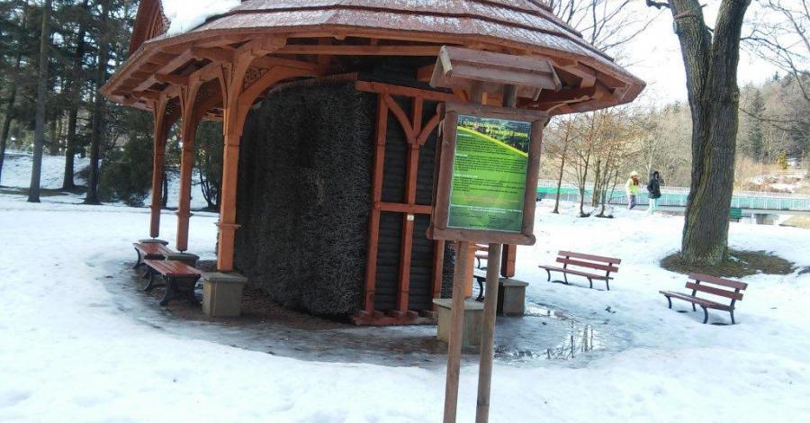 Tężnia solankowa w Rymanowie Zdroju  - zdjęcie