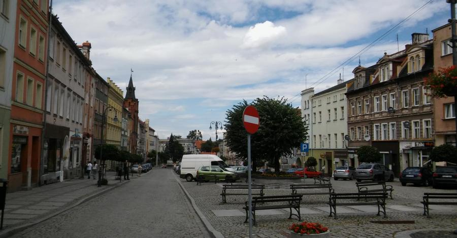 Rynek w Niemczy - zdjęcie