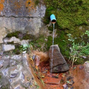 Źródło wody mineralnej Stefan w Łomnicy