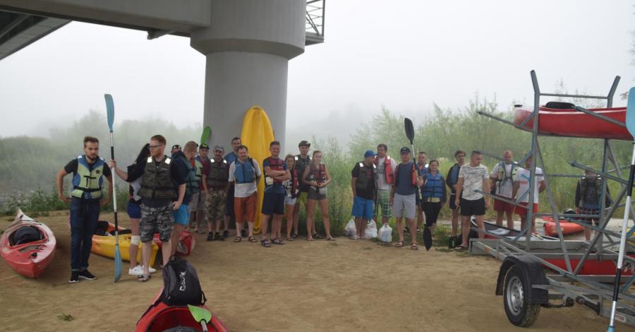 Spływ kajakowy Wisłoką z Mielca do Baranowa Sandomierskiego - zdjęcie