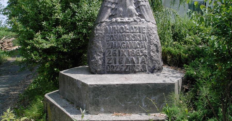 Pomnik poświęcony Powstańcom Styczniowym w Gałkowie Dużym - zdjęcie