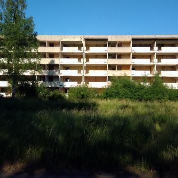 Kłomino - opuszczone miasto