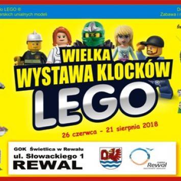 Wystawa Klocków LEGO w Rewalu