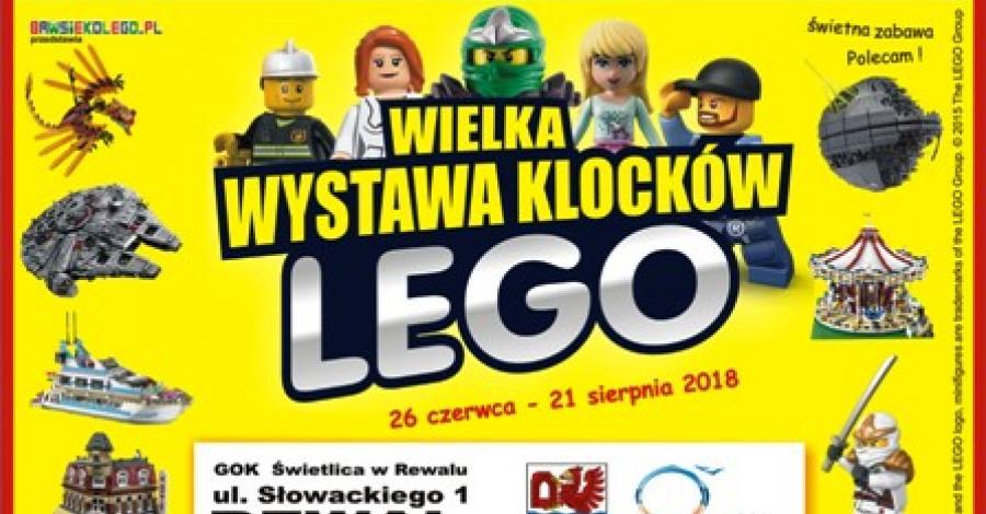 Wystawa Klocków LEGO w Rewalu - zdjęcie