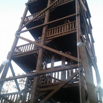 Wieża widokowa w Gozdnie