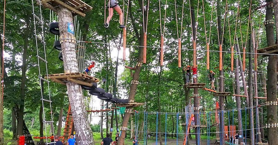Park linowy Lemur Park Zwierzyniec - zdjęcie