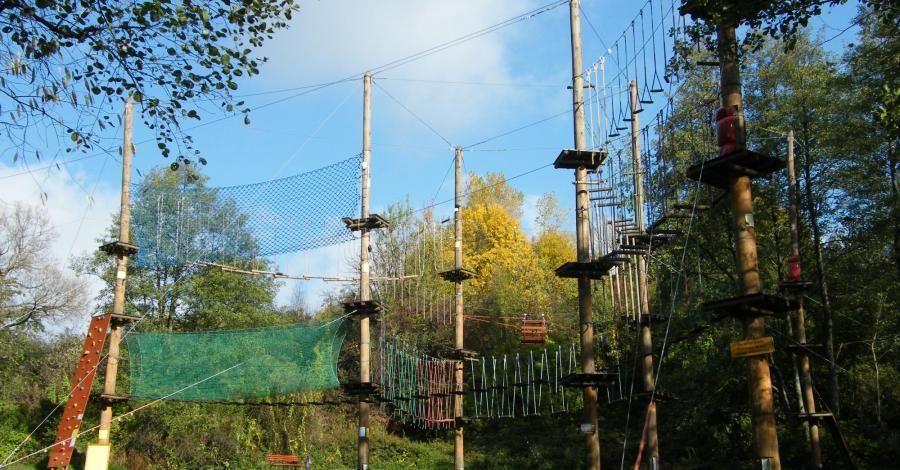 Park linowy Linoskoczek w Rzeszowie - zdjęcie