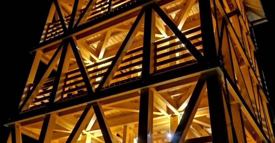 Wieża widokowa w Dąbrówce Szczepanowskiej, Edward Kutko