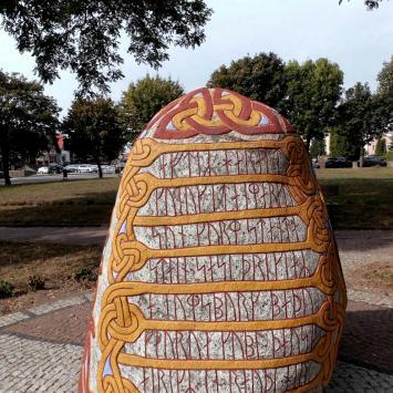 Kamień runiczny w Wolinie