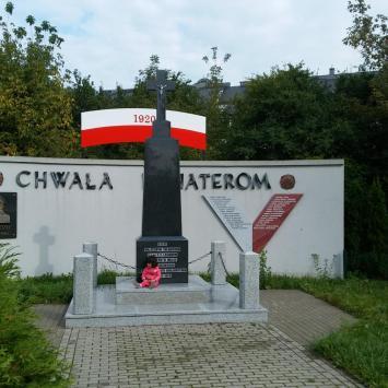 Pomnik 1. Pułku Piechoty Legionów w Białymstoku