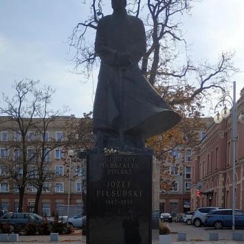 Pomnik Józefa Piłsudskiego w Częstochowie
