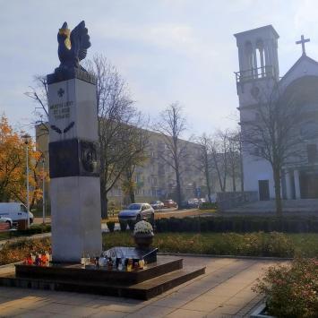 Pomnik Orląt Lwowskich w Częstochowie