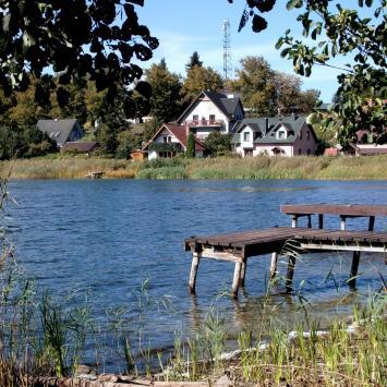 Jezioro Wisełka w Wisełce