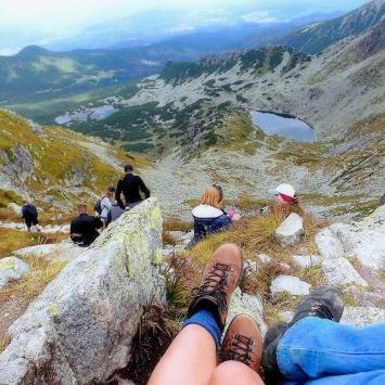 Przełęcz Świnicka w Tatrach