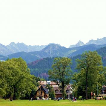 Park Krajobrazowy Równi Krupowej w Zakopanem