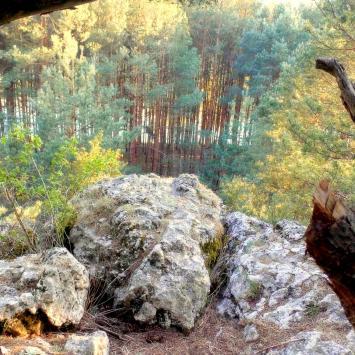 Góra Św. Genowefy w Załęczańskim Parku Krajobrazowym
