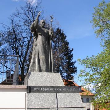 Pomnik Jana Pawła II w Białymstoku