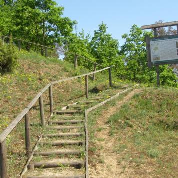 Góra Uszeście w Mielniku